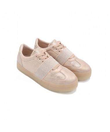 Pantofi Sport De Dama Mirima Roz - Trendmall.ro