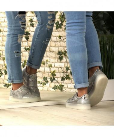 Pantofi Sport De Dama Mirima Gri - Trendmall.ro
