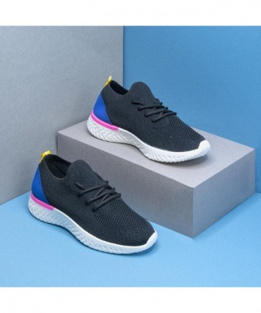Pantofi Sport De Dama Clems Negri - Trendmall.ro