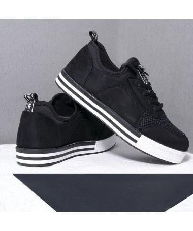 Pantofi Sport De Dama Larena Negri - Trendmall.ro