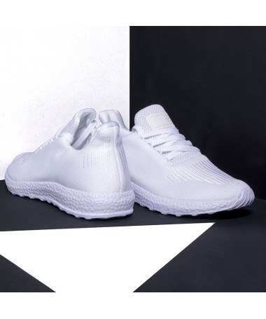 Pantofi Sport De Barbati Totis Albi - Trendmall.ro