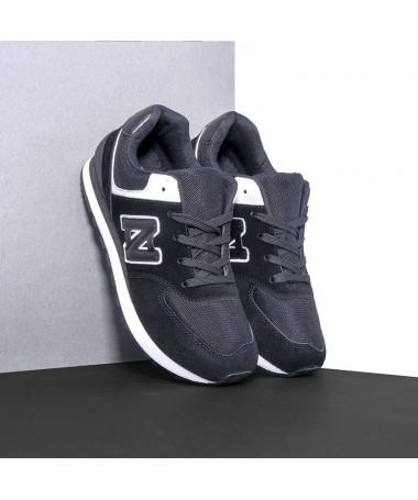 Pantofi Sport De Barbati Zeub Negri - Trendmall.ro