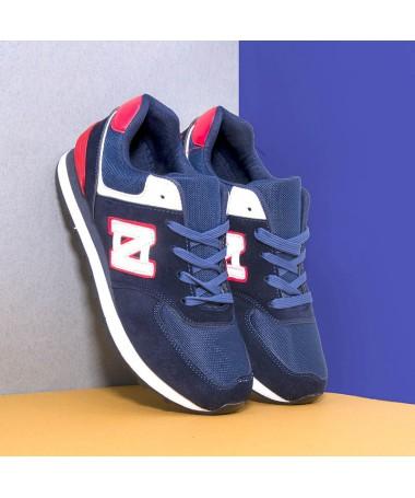 Pantofi Sport De Barbati Zeub Albastri - Trendmall.ro