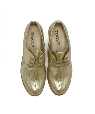 Pantofi De Dama Glodi Aurii - Trendmall.ro