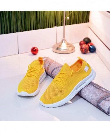 Pantofi Sport De Barbati Aeron Galbeni - Trendmall.ro