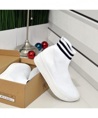 Pantofi Sport De Dama Gladi Albi - Trendmall.ro