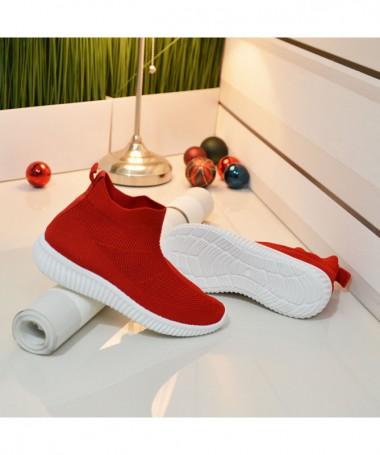 Pantofi Sport De Dama Didina Rosii - Trendmall.ro