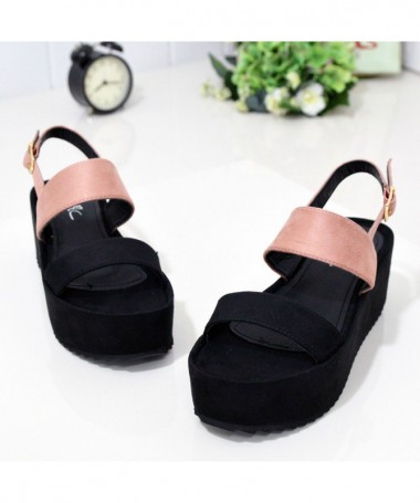 Sandale Cu Toc De Dama Tapa Nude - Trendmall.ro