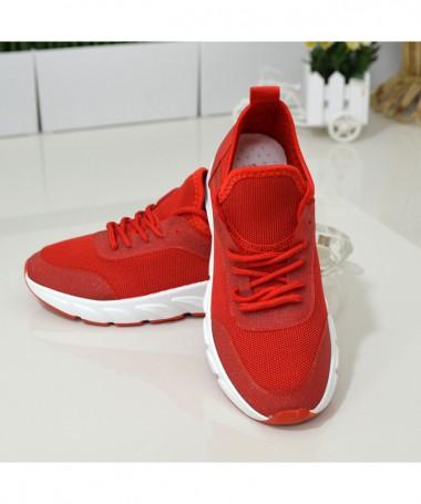 Pantofi Sport De Dama Bump Rosii - Trendmall.ro