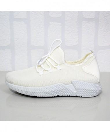 Pantofi Sport De Barbati Highy Albi - Trendmall.ro
