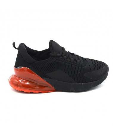 Pantofi Sport De Dama Jamba Negru Cu Rosu - Trendmall.ro