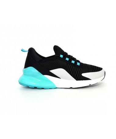 Pantofi Sport De Barbati Jamba Negru Cu Albastru - Trendmall.ro