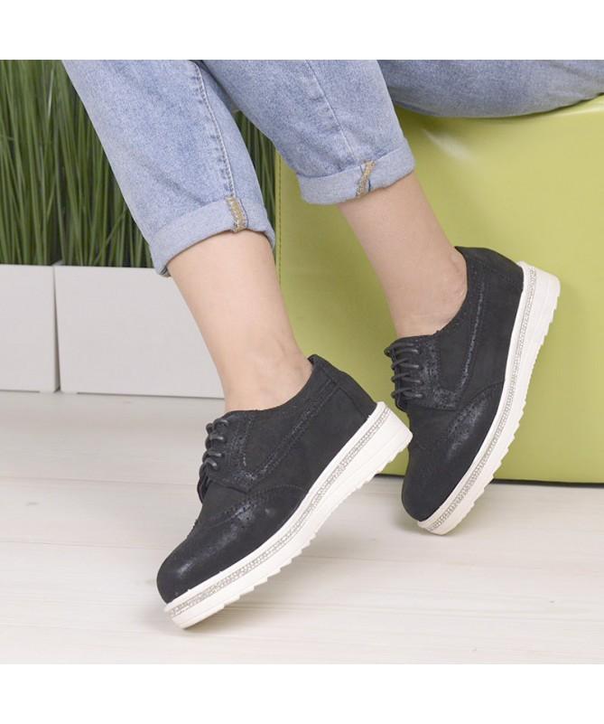 Pantofi De Dama Negrii Edena - Trendmall.ro