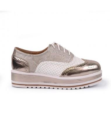 Pantofi De Dama Champagne Oronto - Trendmall.ro