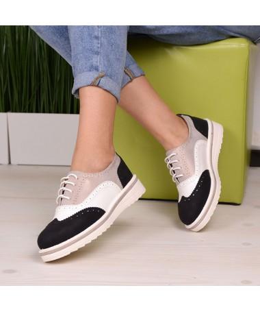 Pantofi Casual De Dama Negrii Evess - Trendmall.ro