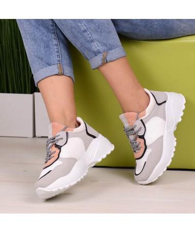 Pantofi Sport De Dama Aztec Roz Cu Gri - Trendmall.ro