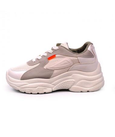Pantofi Sport De Dama Solot Albi - Trendmall.ro