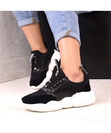 Pantofi Sport De Dama Desco Negri - Trendmall.ro