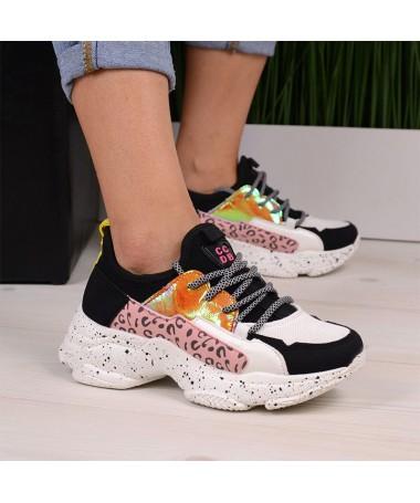 Pantofi Sport De Dama Tiger Albi - Trendmall.ro