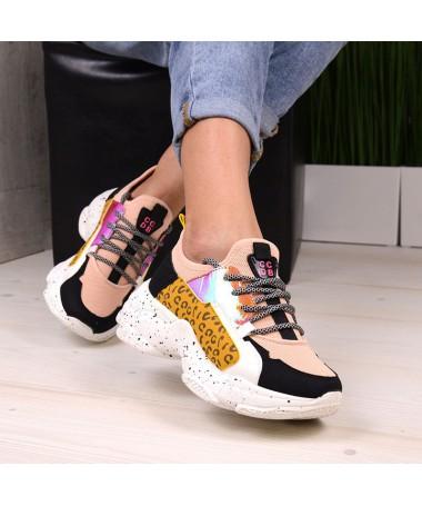 Pantofi Sport De Dama Tiger Roz - Trendmall.ro