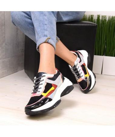 Pantofi Sport De Dama Fub Negri - Trendmall.ro