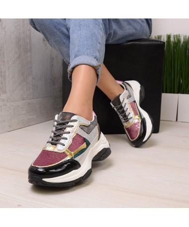 Pantofi Sport De Dama Roz Fub - Trendmall.ro