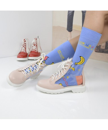 Pantofi Sport De Dama Transparency Roz - Trendmall.ro