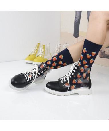 Pantofi Sport De Dama Transparency Negri - Trendmall.ro