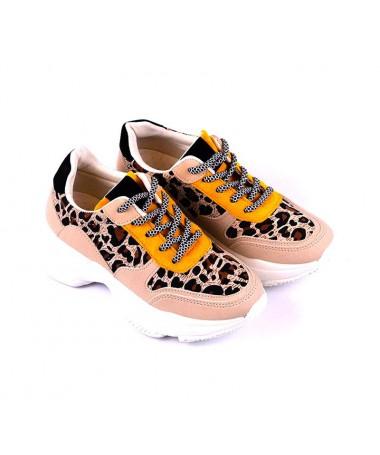 Pantofi Sport De Dama Leopard Lovry - Trendmall.ro