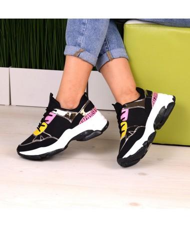 Pantofi Sport De Dama Nower Negri - Trendmall.ro