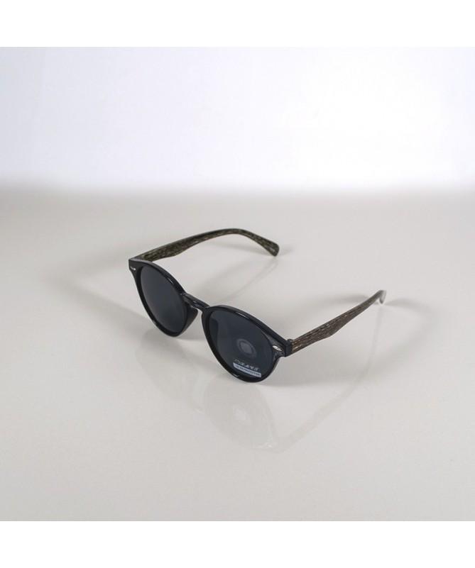 Ochelari De Soare Rotunzi Andore Unisex Negri - Trendmall.ro