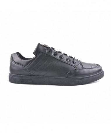 Pantofi Casual De Barbati Verse Negri - Trendmall.ro