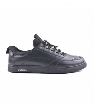 Pantofi Casual De Barbati Spert Negri - Trendmall.ro