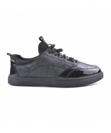 Pantofi Casual De Barbati Spert Negri Army - Trendmall.ro