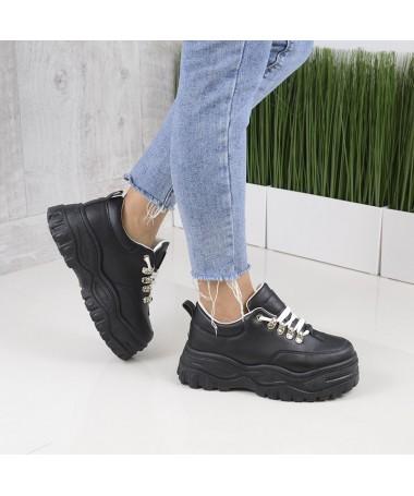 Pantofi Sport De Dama Peasse Negri - Trendmall.ro