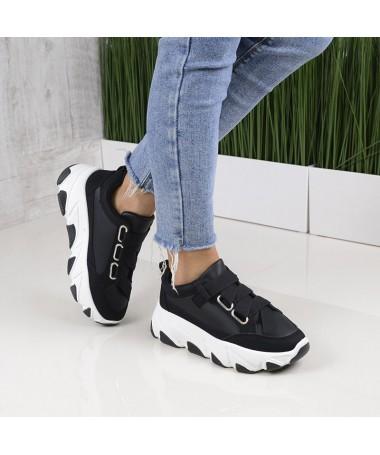 Pantofi Sport De Dama Evzi Negri - Trendmall.ro