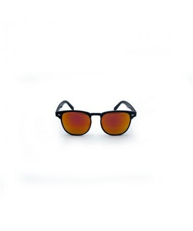 Ochelari De Soare Clubmaster Raymond Portocalii Unisex - Trendmall.ro