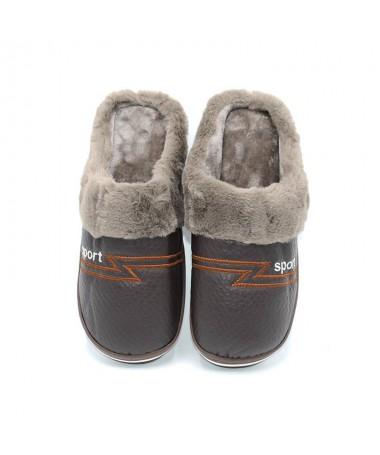 Papuci De Barbati Real Maro - Trendmall.ro