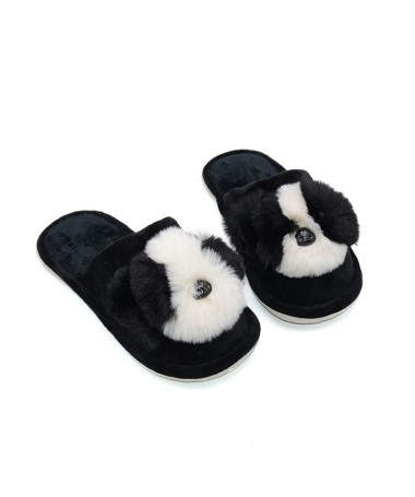 Papuci De Dama Panda Negri - Trendmall.ro
