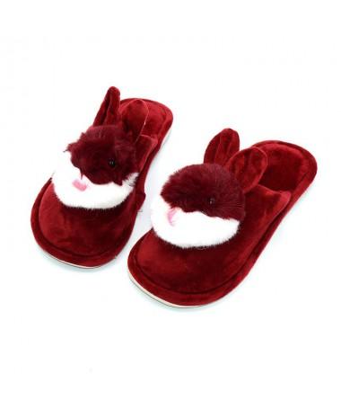 Papuci De Dama Bunny Rosi - Trendmall.ro