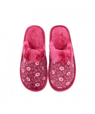 Papuci De Dama Print Piersica - Trendmall.ro