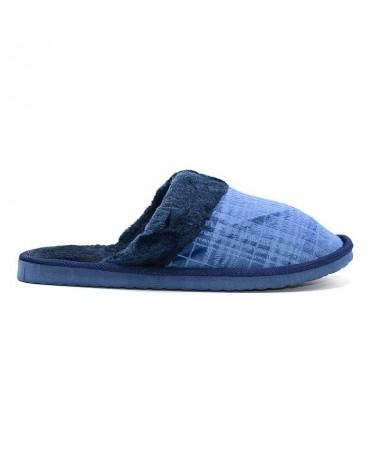 Papuci De Barbati Line Albastri - Trendmall.ro