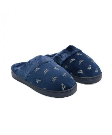 Papuci De Barbati Tros Albastri - Trendmall.ro