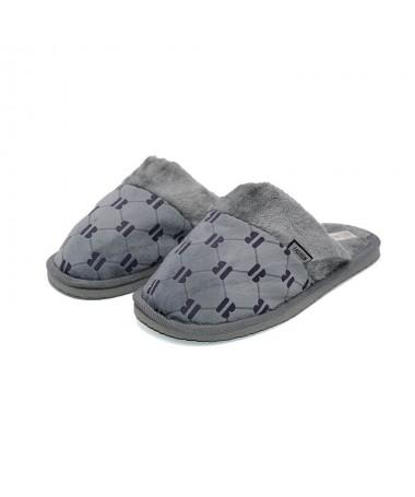 Papuci De Barbati Bob Gri - Trendmall.ro
