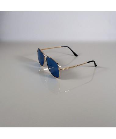 Ochelari De Soare Aviator Ogris Albastri Unisex - Trendmall.ro
