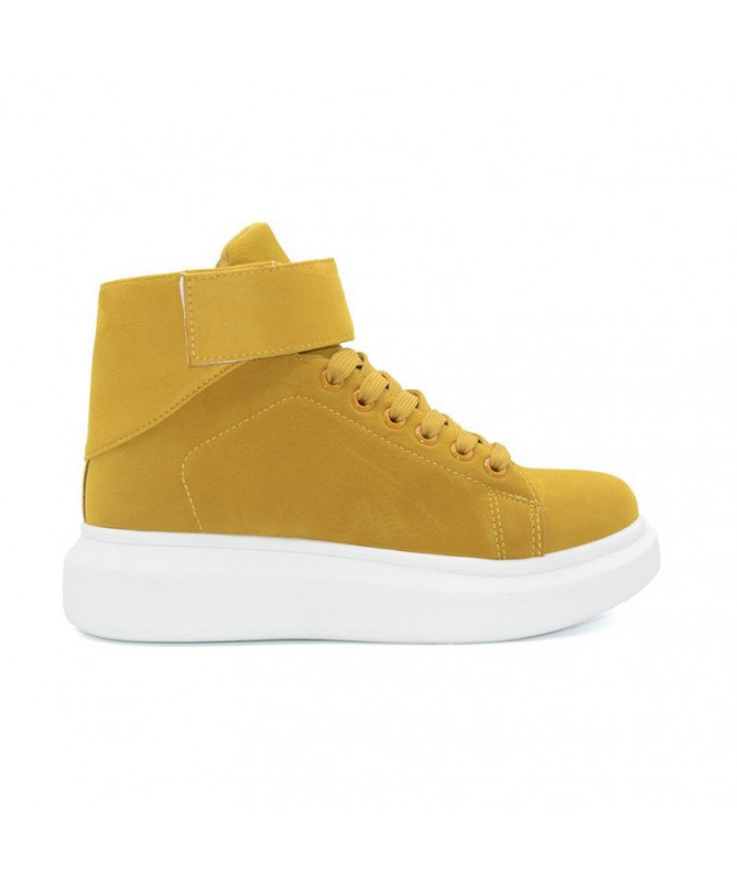 Pantofi Sport De Dama Henry Galbeni - Trendmall.ro