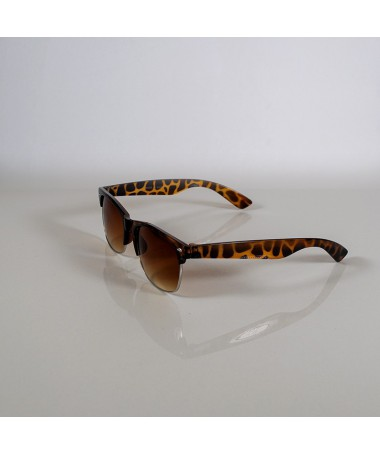 Ochelari De Soare Clubmaster Vivir Animal Print Unisex - Trendmall.ro
