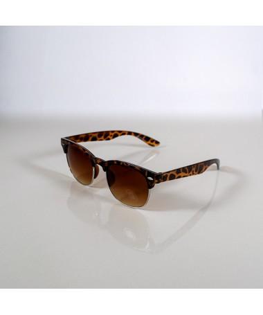 Ochelari De Soare Clubmaster Lazy Sun Unisex Animal Print - Trendmall.ro
