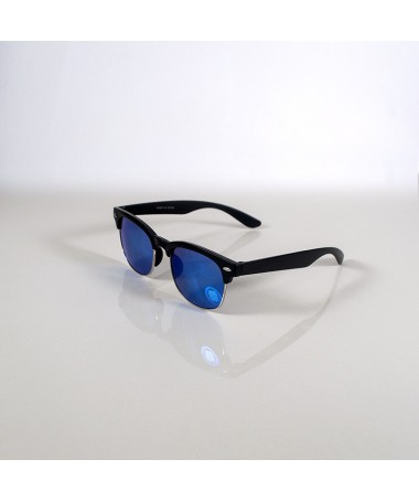 Ochelari De Soare Clubmaster Lazy Sun Unisex Blue - Trendmall.ro