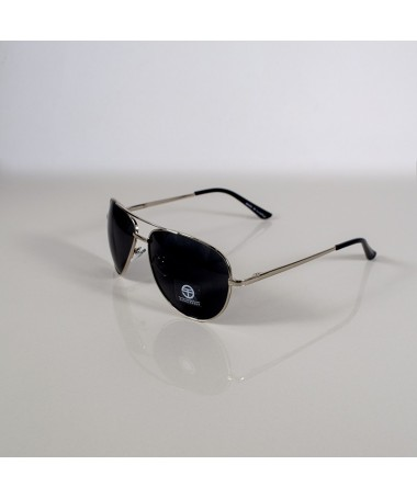 Ochelari De Soare Aviator Poller Negru Cu Argintiu Unisex - Trendmall.ro